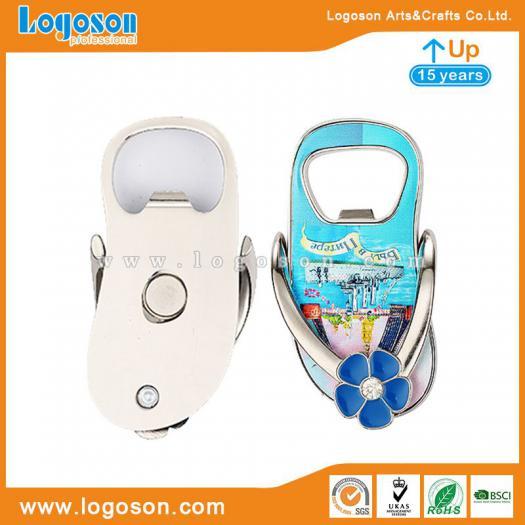 6ea850075c3bbe Flip Flop Bottle Opener Magnet Souvenir Factory Direct Wholesale