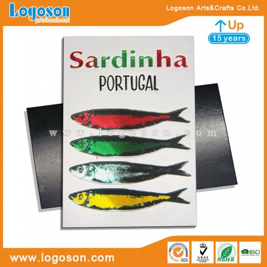 new design portugal sardine fridge magnets in bulk