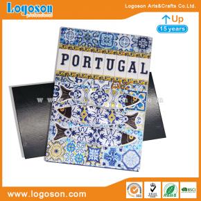 foil paper custom fridge magnets in bulk portugal souvenirs