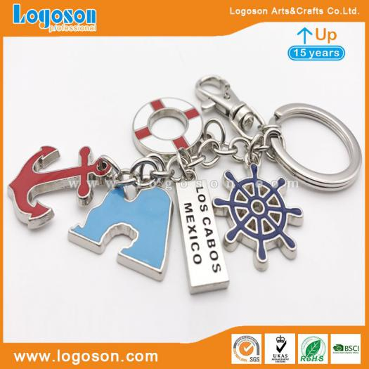 Personalized Key Chain Fob Mexico Logo Souvenir Wholesale