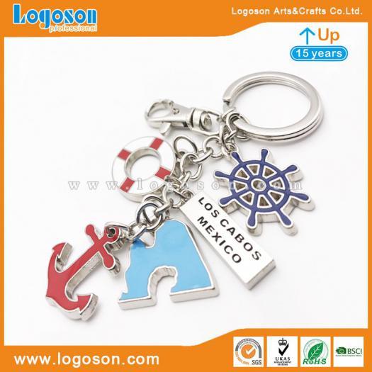 Personalized Key Chain Fob Mexico Logo Souvenir Wholesale