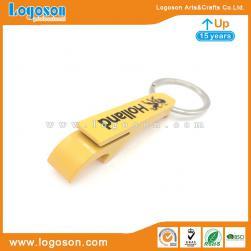 Plastic Bottle Opener Key Ring New I Love Majorca