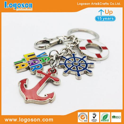 Wholesale Keychain Metal Different Shapes Custom Pendant