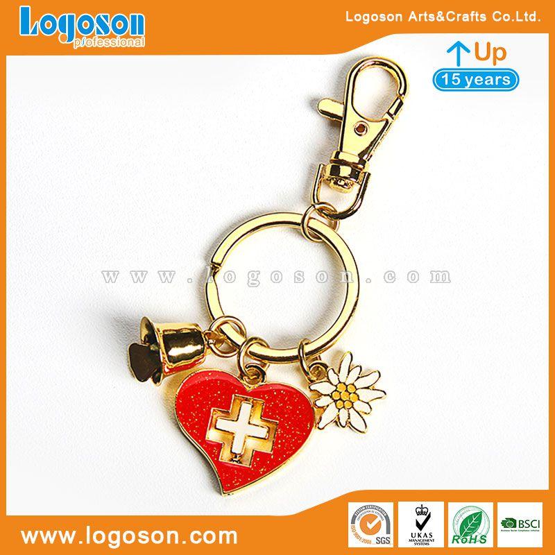 Switzerland bell keychain