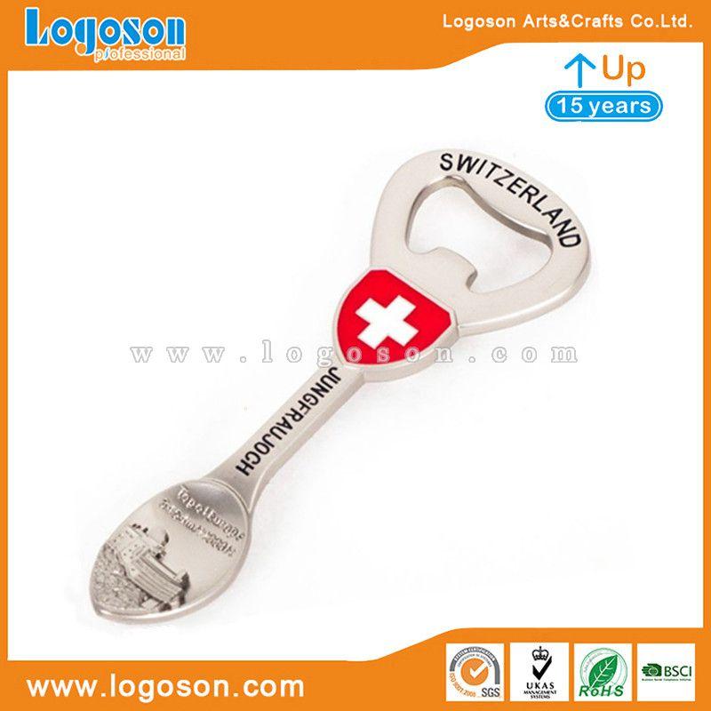 switzerland metal spoon