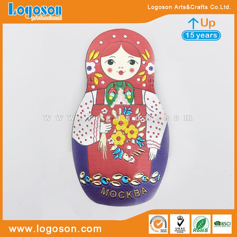 moscow doll magnet