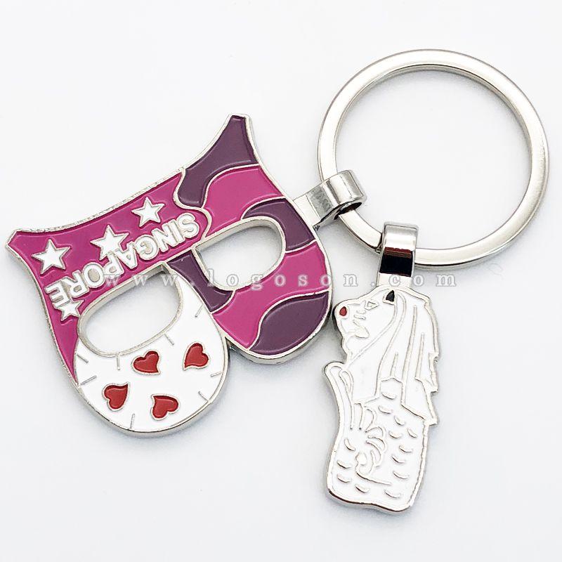 merlion keychain souvenir