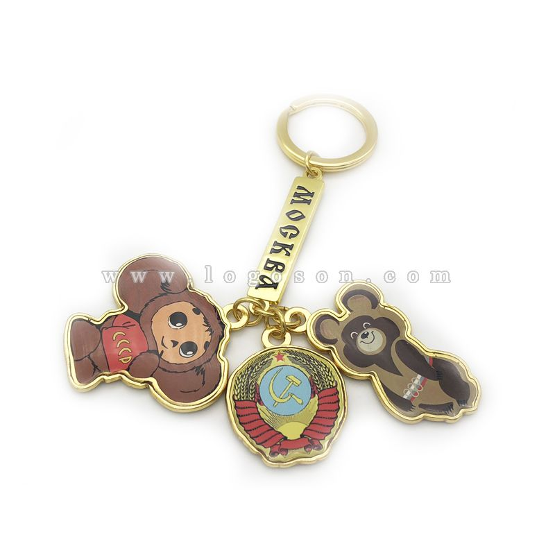 russia cute keychains