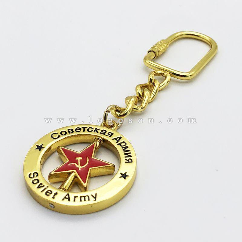 Russia souvenir key chain