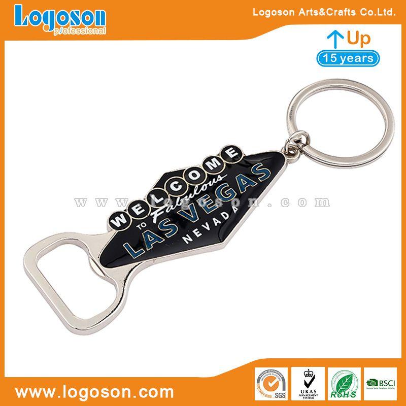 Las Vegas bottle opener keychain