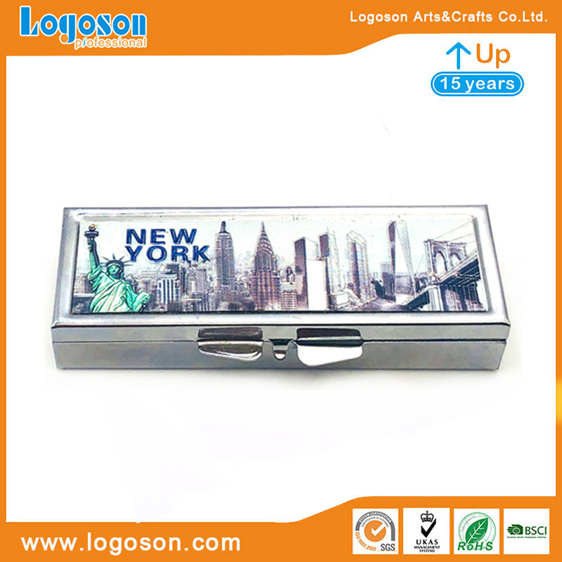 new york souvenir pill box