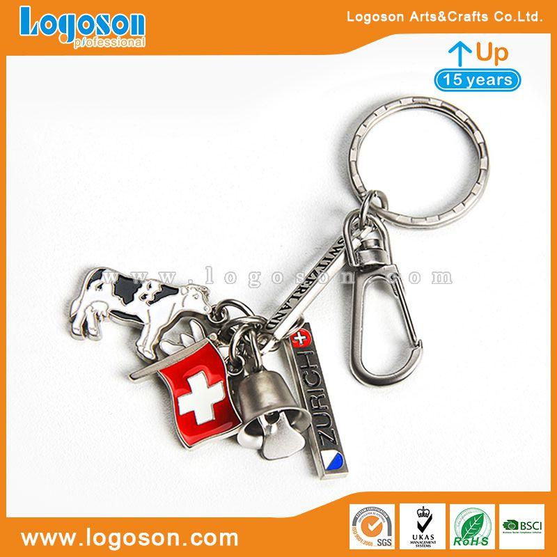 Switzerland keychain souvenir